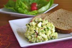 Ready for leftovers? Avocado Egg Salad!