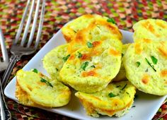 A simple low-carb savoury snack. It can even take the place of a carb like potatoes or rice, because its filling. Crisply fried cumbled bacon or dried hot pepper flakes can be added to the mixture to add more oomph. I tried my idea in muffin tins first, but they were a little large. Ive made it again, using patty tins. EDITED: I changed my mind about the patty pans - they were too thin, and I think muffin hollows are still the best bet.