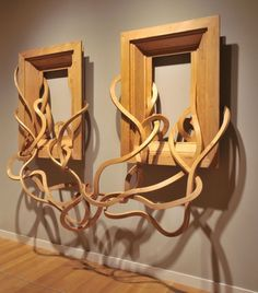 'Two for Tango' - by Pablo Reinoso, from the Marco Firulete series, similar to his Spaghetti Bench series