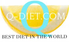 Q-DIET: Q-DIET.COM.......WILL SAVE THE WORLD !!!!!!!!!!!!!... Diet, World, The World, Banting, Diets, Per Diem, Food