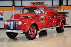 1946 Ford Howe Fire Truck