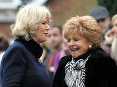 Rita from Coronation Street. She has some good advice for Camilla I'm sure.