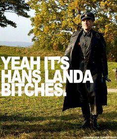 Hans Landa, Inglourious Basterds, Christoph Waltz, Learn German, Men Looks, Actors & Actresses, Envy, Films, Movies