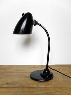 Luxury Very rare Kaiser idell lampe Mod variante Design Christian Dell