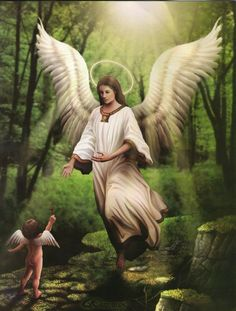 A guardian angel is an angel that is assigned to protect and guide a particular person, group, kingdom, or country. Belief in guardian angels can be traced thro Angel Images, Angel Pictures, Angels Among Us, Angels And Demons, Angel Protector, Seraph Angel, Angel Guide, I Believe In Angels, Fable
