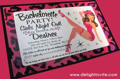 Love this rocker style card.  You'll definitely need a playful bridal inspired mini dress to top off your last night as a single lady! Check back at www.costumizeme.com in April for bachelorette costumes!