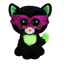 0cd91fd9466 Ty 6   15cm Beanie Boos Jinxy - Black Cat Plush Regular Soft Big-