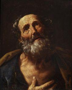 lu-art:  St. Peter Penitent, 1600, Guido Reni. Baroque Private... #Impressionism…