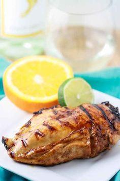 Pinot Grigio Chicken With Honey Citrus Glaze