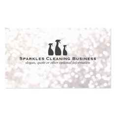 House cleaning prices average cost to hire a house cleaner pro elegant cleaning service white bokeh business card reheart Choice Image