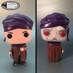 Professor Quirrell/Voldemort Custom Funko POP! from Harry Potter