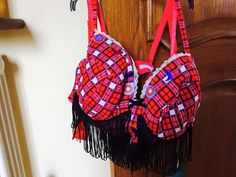 What a fab Tartan #bra by Karen