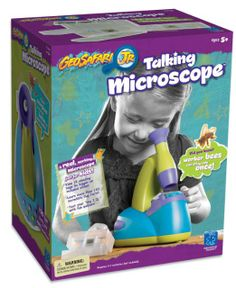 Amazon.com: Educational Insights Geosafari Talking Microscope: Toys & Games