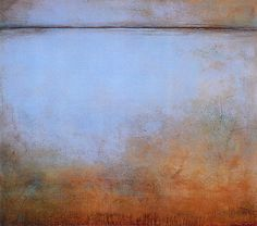 Evening Fields V: Acrylic on panel 48 x 60″ Suzanne Northcott