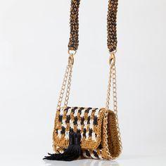 Bolsa Lapine • Terra • CM535 - Catarina Mina | Bolsas de Crochê feitas a mão