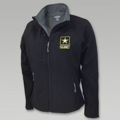 Army Ladies Soft Shell Jacket