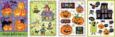 Impact Innovations Halloween Vinyl Static Cling Window Decoration Monster Bash 4Pack Assortment * You can get more details by clicking on the image. (This is an affiliate link and I receive a commission for the sales)