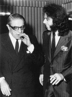 Aristotle Onassis And Cigar Life Lamborghini Miura, Greek Tragedy, Richest In The World, Maria Callas, Jackie Kennedy, Famous Men, Picture Collection, Rare Photos, Pop
