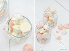 Sabores de colores: Besos de merengue