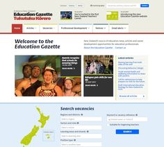 New Education Gazette website launched Ministry Of Education, Career Education, Professional Development, New Zealand, This Or That Questions, Website, School, Career Training, Continuing Education