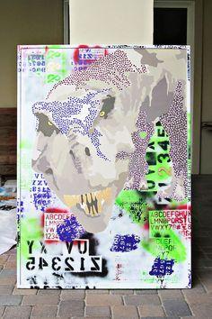 Making Recycled art via lilblueboo.com