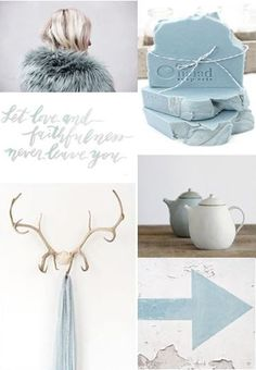 moodboard - cool blue . lifestyle