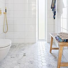 The bathroom specialist Ensuite Bathrooms, Bathroom Floor Tiles, Downstairs Bathroom, Bathroom Fixtures, Small Bathroom With Shower, Master Shower, Bad Inspiration, Bathroom Inspiration, Classic Bathroom