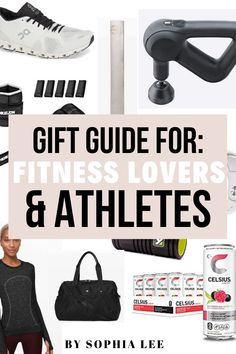 best gift guide for athletes that ive been able to find! definitely saving this