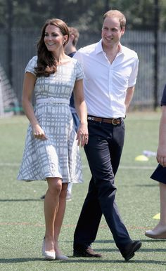 Catherine And Prince William On July 26,2012
