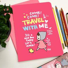 Cuaderno de notas Pony Brown - Travel