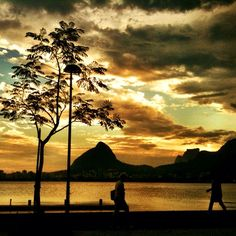 Sunset in Rio - @chmarra | Webstagram