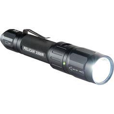 Pelican 305-lumen Spotlight And Floodlight With Rechargeable Lightweight Aluminum Flashlight