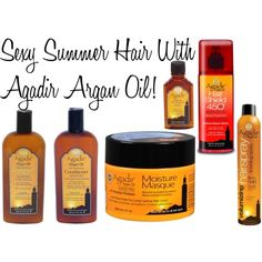 Mama Fashionista: Sexy Summer Hair with Agadir Argan Oil!