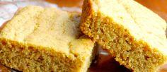 Gluten Free Pumpkin Cornbread - this would go nicely with our Gluten Free Chicken Pot Pie! #gf #glutenfree #comfortfood