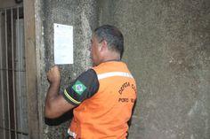 AMEAÇA DE DESABAMENTO - Prédios invadidos na Rua Três e Meio são interditados - Rondoniaovivo.com