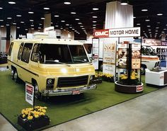 The GMC MotorHome's history by Bill Bryant with John Novicki. Extensive article on the genesis, production and future of this iconic classic. Gmc Motorhome, Airstream Trailers, Vintage Rv, Vintage Trailers, Cool Rvs, Classic Gmc, Cool Campers, Garage, Luxury Watches