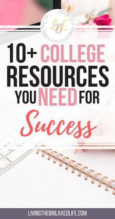 College is very different from high school, and finding the right college resources to help you along the way is key. Here are the best college resources: