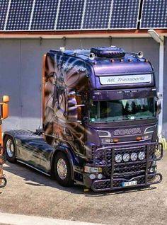 scania Show Trucks, Used Trucks, Trucks And Girls, Big Trucks, Train Truck, Road Train, Customised Trucks, Custom Trucks, Custom Big Rigs