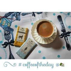 Teşvikiye - Home, my coffee love  Cup from London - Table mat from Secdus - Chocolates from Barcelona