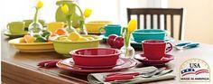 Fiesta® dinnerware.....made in America