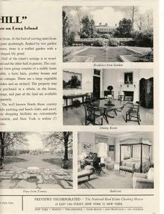 Old Long Island: When 'Oak Hill' Was For Sale