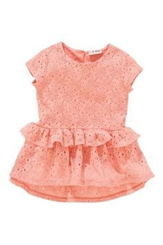 Buy Lace Peplum Top (3mths-6yrs) from the Next UK online shop