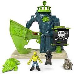 Fisher-Price Imaginext Ghost Pirate Island - Just $10.04! - http://www.pinchingyourpennies.com/206291-2/ #Amazon, #Imaginext