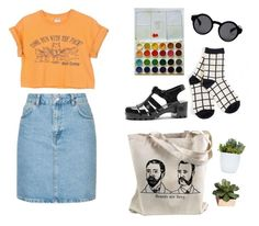 """beards"" by mikaela-obrien on Polyvore featuring Topshop, CB2 and Monki"