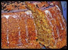 Είναι από τα νοστιμότερα κεικ ever! Γίνεται αφράτο και ¨νωπό¨.. Δεν στεγνώνει ΠΟΤΕ και σου αφήνει και γεύση καρύδας..και γεύση καρ... Cake Frosting Recipe, Frosting Recipes, Cake Recipes, Dessert Recipes, Greek Sweets, Greek Desserts, Greek Recipes, Cake Cookies, Cupcake Cakes