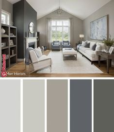 Morr Interiors provides interior design services out of Exeter, NH. Our consultants work with you to help you redesign or stage your home or business. Interior Paint Colors For Living Room, Room Wall Colors, Living Room Color Schemes, Paint Colors For Home, Living Room Paint, Living Room Colors, House Colors, Living Room Decor, Modern Paint Colors