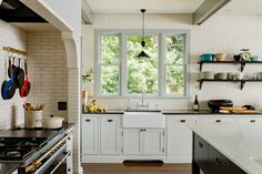 Inside A Victorian-Style Kitchen That's Designed To Perfection. Just right.