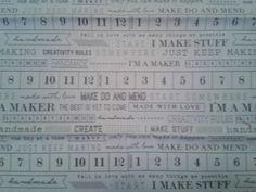 Maker, art gallery fabrics