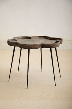 Handcarved Elatus Table - anthropologie.com