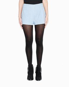 Sky blue shorts